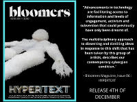 Launch of BLOOMERS MAGAZINE ISSUE 06: HYPERTEXT