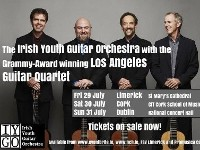 Irish Youth Guitar Orchestra with Grammy Award winning Los Angeles Guitar Quartet