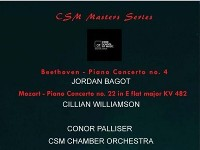 MASTERS RECITAL SERIES // Jordan Bagot & Cillian Willianson