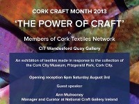 Cork Craft Month 2013 - The Power of Craft