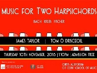 Muisc for Two Harpsichord