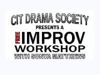 Improv Workshop with Sonya Matthews