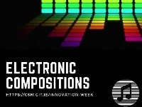 Electronic Compositions in surround - Music Technology students