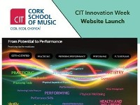 From Potential to Performance  CIT INNOVATION WEEK - WEBSITE LAUNCH