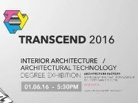 TRANSCEND 2016 - CIT Interior Architecture Degree Exhibition