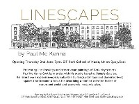 Linescapes // exhibition of artwork by Paul McKenna