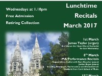 MARCH Recitals in St. Finbarre's Cathedral