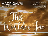 Madrigal '75 - THIS WORLDE'S JOIE