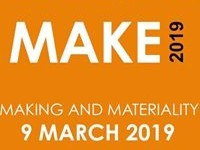 Make 2019 // Making & Materiality