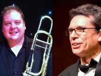 Michael Marshall (trombone) and Brian Connor (piano)