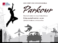 CSM SYMPHONIC //  WIND ENSEMBLE PARKOUR