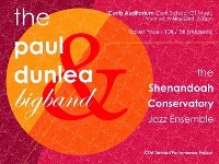 The Paul Dunlea Big Band plus Shenandoah Conservatory Jazz Ensemble