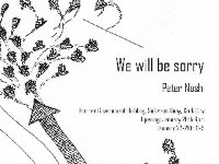 We will be sorry by Peter Nash