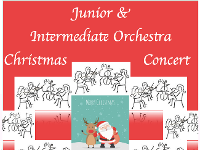 Junior & Intermediate Orchestra Christmas Concert
