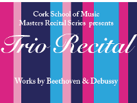 MASTERS RECITAL SERIES // Trio Recital