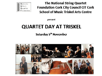 Cork School of Music quartet showcase