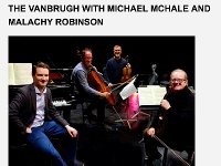 VanBurgh Quartet with Michael McHale and Mulcahy Robinson