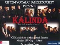 CIT CSM VOCAL CHAMBER SOCIETY PRESENTS KALINDA