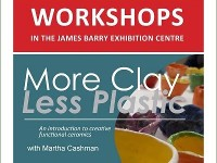 FULLY BOOKED // MORE CLAY LESS PLASTIC with sculptor Martha Cashman