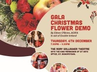 Gala Christmas Flower Demo in aid of Enable Ireland