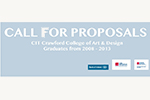 CIT Wandesford Quay Gallery are delighted to announce CIT CCAD graduate Call for Proposals