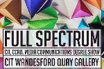 FULL SPECTRUM  |  CIT CCAD Visual Communications Degree Show opens