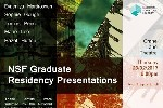 CCAD Graduate Tomas Penc takes part in NSF Graduate Residency Presentations
