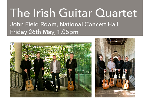 The Irish Guitar Quartet perform at the National Concert Hall, Dublin on 26th  May 2017