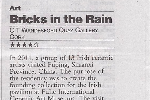 'Bricks in the Rain' Review in Irish Examiner