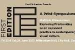 FIRST EDITION Print Symposium - to include CIT CCAD Tutor